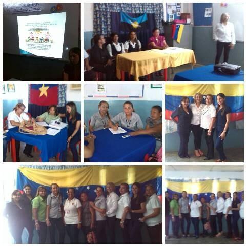 Encuentro pedagogico sala de lectiras Alba de reyes Santa Rita