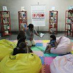 Niños visitantes al TSJ leyeron la Constitución Ilustrada