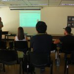 Estudiantes de la UCV realizan Servicio Comunitario promocionando la página de la Biblioteca Digital César Rengifo