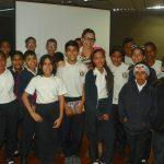 Adolescentes de la UENB Armando Zuloaga recibieron charla sobre acoso escolar
