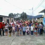 Los niños  de Barinas  se divierten en las montañas de Orlando Araujo