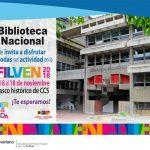 Biblioteca Nacional: Vanguardia cultural de la Filven 2018
