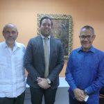 Encargado de negocios de la embajada de México en Venezuela visitó la Biblioteca Nacional