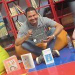 Entre cuentos y adivinanzas las palabras cobran vida en el pabellón infantil de la Filven 2019