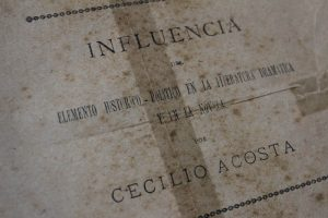 Cecilio Acosta22