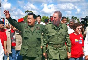 Chávez y Fidel 1999