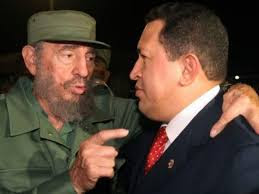 Chávez y Fidel