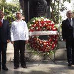 Venezuela y Cuba celebran los 138 años de la llegada de José Martí a Caracas