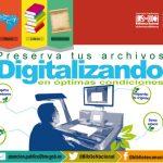 Biblioteca Nacional ofrece servicio gratuito de digitalización
