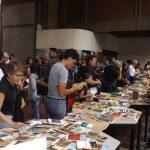 Cerca de 3 mil libros se intercambiaron en el Cambalache Aniversario de Biblioteca Nacional