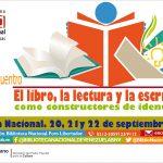 BN da  inicio al III Encuentro del libro, la lectura y la escritura