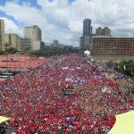 ¡Ganó la Paz! Alegría chavista y patriota desbordó las calles de Caracas