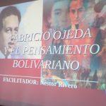 Fabricio Ojeda, estudioso de la obra escrita del Libertador Simón Bolivar