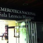 La Biblioteca Nacional te invita a visitar su servicio de hemeroteca