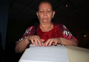 Lectura en Braille Con Wilfredo Machado1