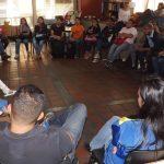 Con taller de inducción en promoción de lectura, estudiantes de la UCV iniciaron Servicio Comunitario en BN