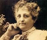 Teresa Carreño en sepia