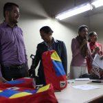 Estudiantes del colegio José Ignacio Cabrujas recibieron 204 morrales de Chávez