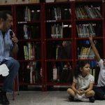 "Ministro Adán Chávez reinauguró Biblioteca Pública ""Oscar Palacios Herrera"""