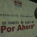 """A un cuarto de siglo del """"Por ahora"""" Biblioteca Nacional conmemora hechos del 4F-92"""
