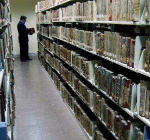 Estanteria de libros raros