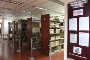 Sala de Publicaciones Oficiales Biblioteca Nacional