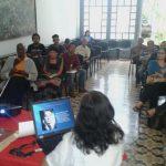 Entre cantos y cuentos los cronistas celebran a Caracas