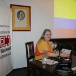 Iliana Morante disertó sobre las peripecias de los archivos de Miranda