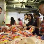 Se ofreció venta de alimentos para el beneficio de los trabajadores y trabajadoras de la Biblioteca Nacional