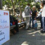 La Biblioteca Nacional celebra su 183° Aniversario con Suelta de Libros en la Plaza Bolívar de Caracas