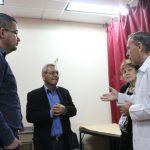 Superintendente de seguridad social visitó la Biblioteca Nacional