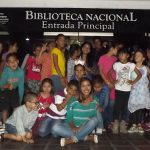 Niñas y niños de las parroquias San José y Altagracia visitaron Biblioteca Nacional